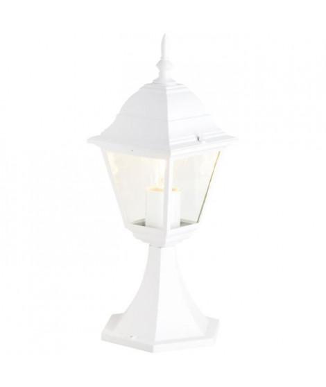 BRILLIANT Borne NEWPORT - E27 - 1x60W - Coloris blanc