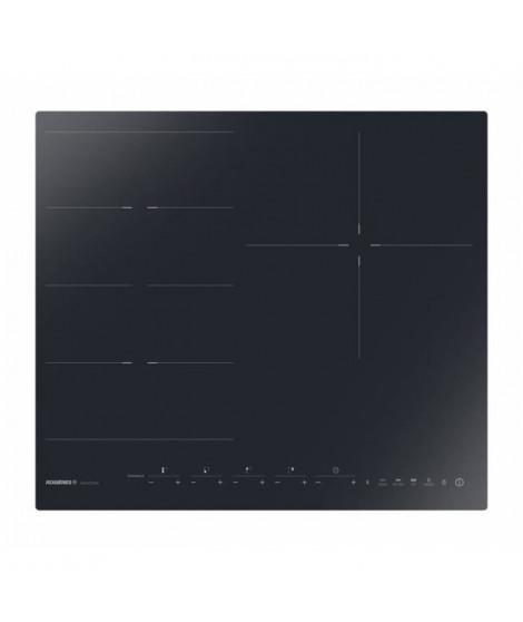 ROSIERES - RIED340B1C - Table induction - 3 foyers - L60cm - FLEX + 1 - Noir