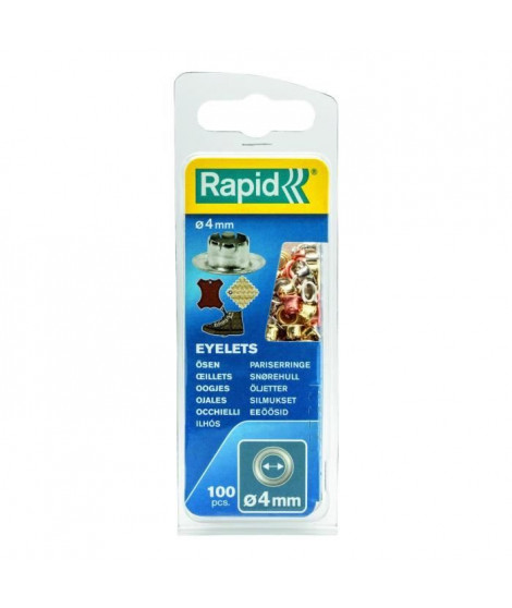RAPID 100 oeillets 4mm