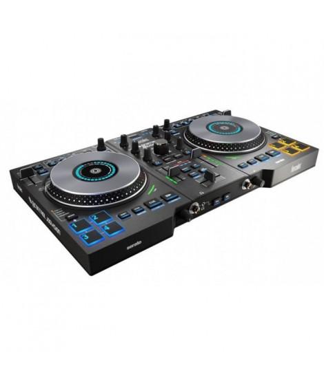HERCULES DJControl Jogvision - Console DJ compacte USB