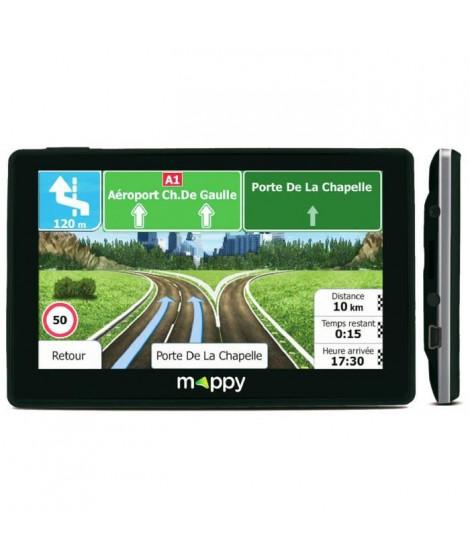 MAPPY ITI E438 Navigateur GPS 4.3 Carte a vie