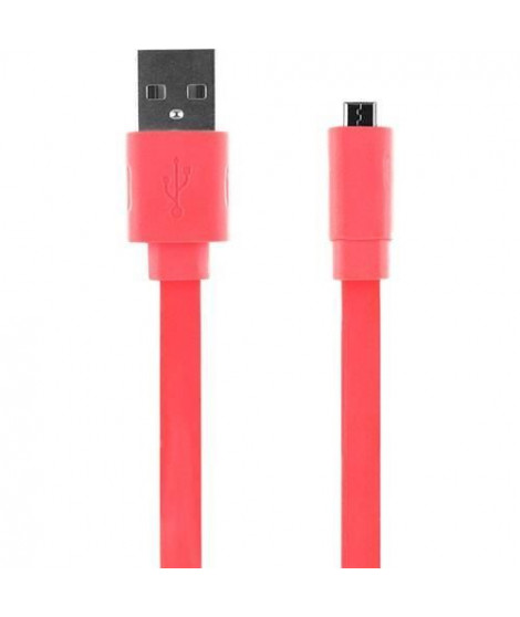 BIGBEN Cable univers USB - Rose