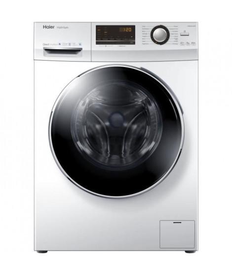 HAIER / W07-B1236 - Lave Linge fontral - 7 kg - 1200 trs/min - A+++ - Blanc