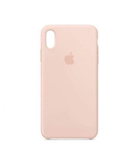 Coque en silicone pour iPhoneXSMax - Rose des sables