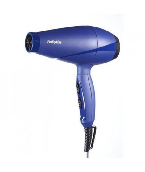 BABYLISS 6604NPE Seche-cheveux 2000 W - Flux d'air de 90 km/h -Bleu