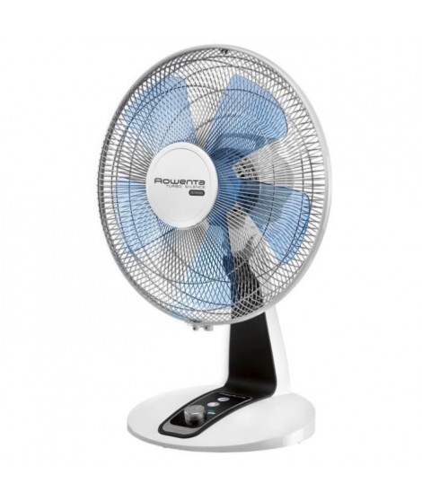 ROWENTA VU2640F0 Ventilateur de table Ø 40 cm - 70 watts - 4 vitesses - Turbo Silence Extreme
