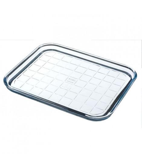 PYREX Plaque de cuisson Classic Glassware 32 cm transparent