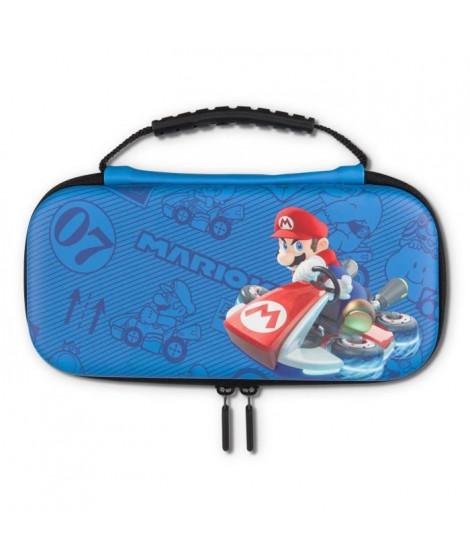 POWER A Boîte de protection Kit Mariokart Bleu