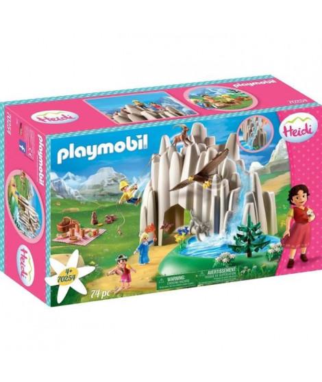 PLAYMOBIL 70254 - Heidi - Heidi, Peter et Clara au lac de cristal  - Nouveauté 2020