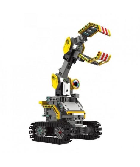 UBTECH - Jimu Trackbots - Kit Robot de Construction Motorisé Éducatif et Connecté