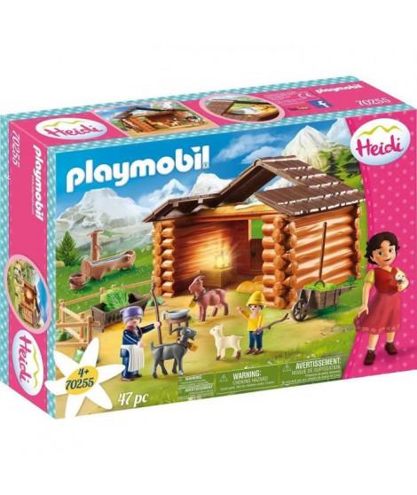 PLAYMOBIL 70255 - Heidi - eter avec étable de chevres  - Nouveauté 2020