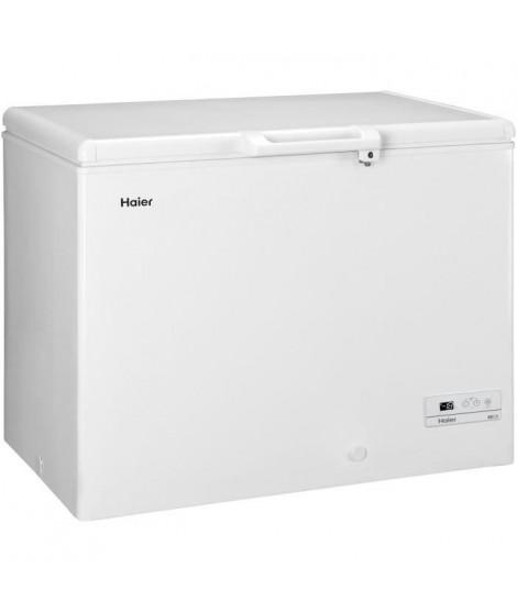 HAIER - BD319RAAE - Congélateur coffre - 319L - Froid Statique - A+ - L110cm x H84,5cm - Blanc