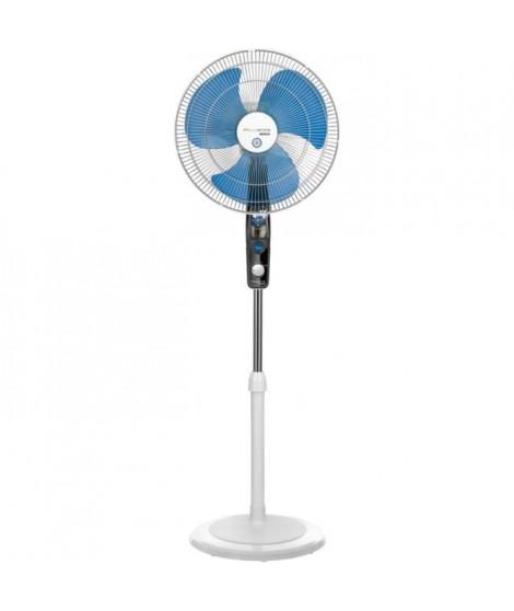 ROWENTA VU4210F0 Ventilateur sur pied 40 cm - 60 watts - 3 vitesses - Oscillant - Débit d'air : 55 m³/h - Fonction anti-moust…