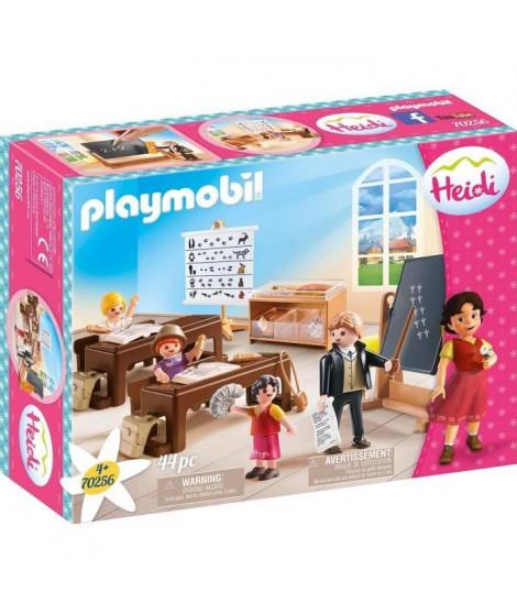 PLAYMOBIL 70256 - Heidi - Salle de classe a Dörfli - Nouveauté 2020