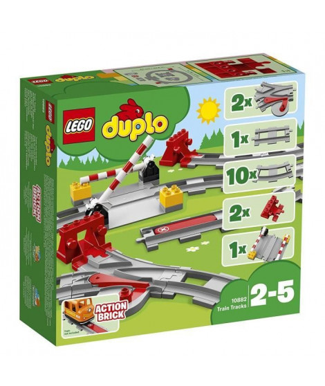 LEGO DUPLO Ma ville 10882 Les Rails du Train