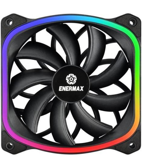 ENERMAX Ventilateur SquA RGB ultra-silencieux (UCSQARGB12P-SG)
