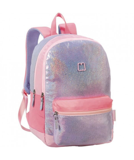 SAC A DOS 2 COMPARTIMENTS - MARSHMALLOW SPARKLY