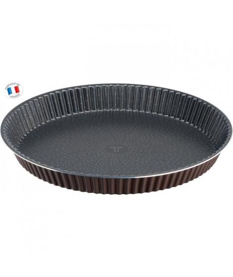 TEFAL SUCCESS Jeu de 4 tartelettes J1608102 diametre 11 cm marron