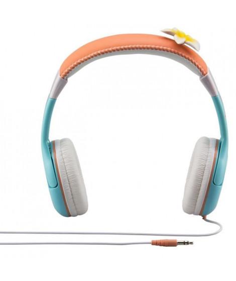 VAIANA casque audio enfant Kidsafe Premium - Arceau réglable pour enfant