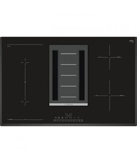 BOSCH PVS851F21E - Table vitrocéramique a induction - 4 foyers - Noir