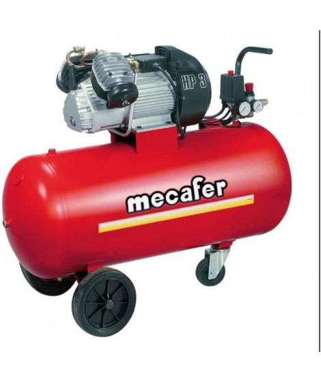 MECAFER Compresseur 100L 3CV