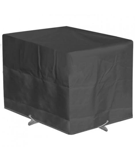 GREEN CLUB Housse de protection pour table de jardin 110x110x65cm - Anthracite