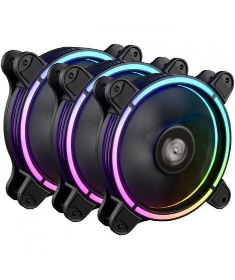 ENERMAX Pack de 3 Ventilateurs de boitier TB RGB AD (UCTBRGBA12P-BP3)