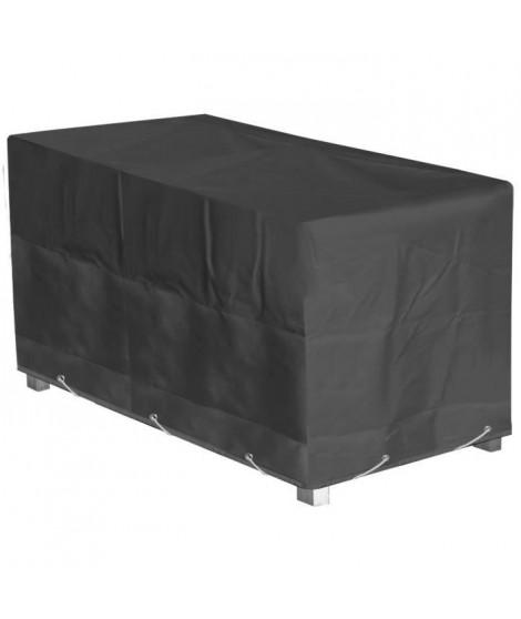 GREEN CLUB Housse de protection pour table de jardin 240x100x65cm - Anthracite