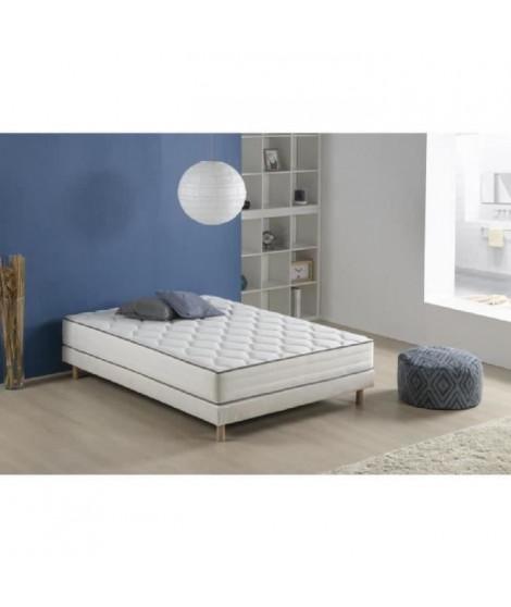 Matelas 610 ressorts et mémoire de forme 140 x 200 - Confort équilibré - Épaisseur 25 cm  - FINLANDEK Arkuus