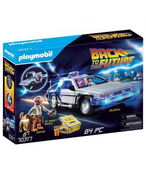 PLAYMOBIL 70317 - Retour vers le futur - DeLorean - Nouveauté 2020