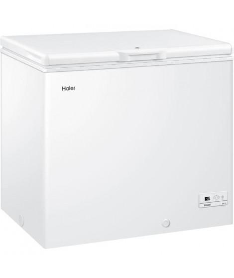 HAIER - BD203RAEE - Congélateur coffre - 203L - Froid statique - A+ - L94cm x H84,5 - Blanc
