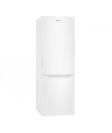 HAIER HB310W - Réfrigérateur congélateur bas - 312 L (223 + 89) - Froid statique - A+ - 185 x 60 cm - Blanc