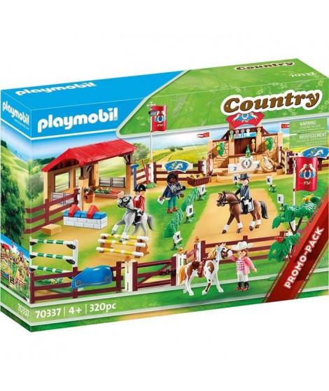 PLAYMOBIL 70337 - Country - Centre d'entraînement pour chevaux  - Nouveauté 2020