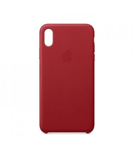 Coque en cuir pour iPhoneXSMax - (PRODUCT)RED