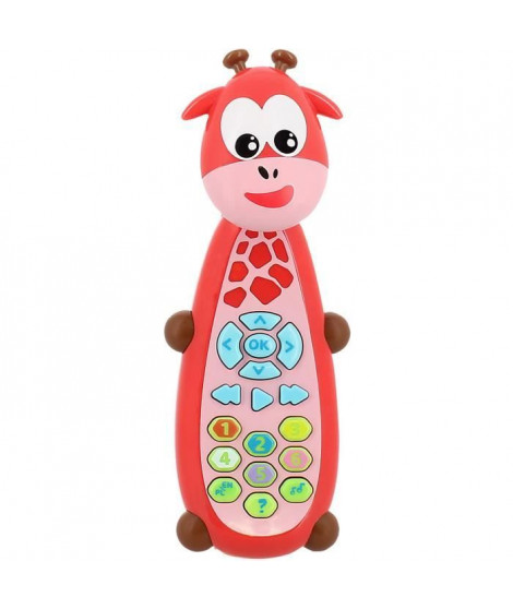 INFINIFUN La télécommande Girafe bilingue