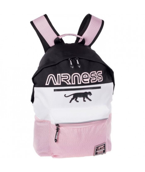AIRNESS Sac a dos borne 100737523 - Noir, blanc et rose