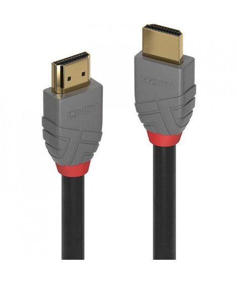LINDY Câble HDMI High Speed - Anthra Line - 2m