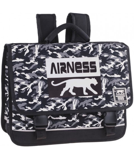 AIRNESS Cartable 100737589 - Noir et blanc