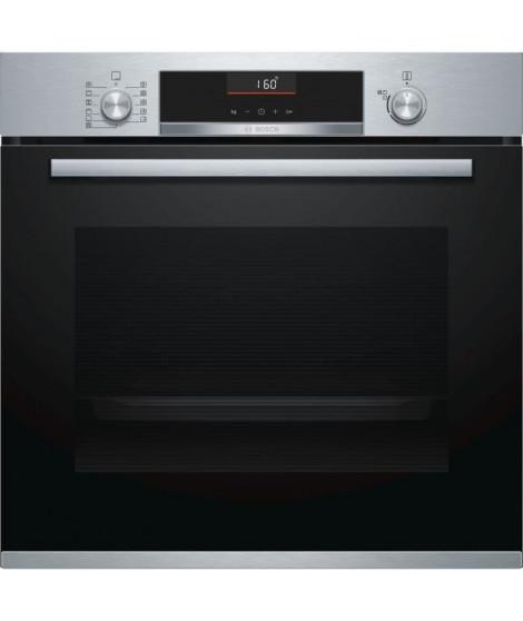 BOSCH HBA5560S0 - Four électrique encastrable - 71 L - Air pulsé - Nettoyage eco clean - 7 modes de cuisson - Inox