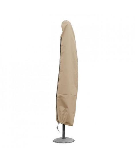 GREEN CLUB Housse de protection pour parasol droit 2,4 m - 40x30x210 cm - Beige