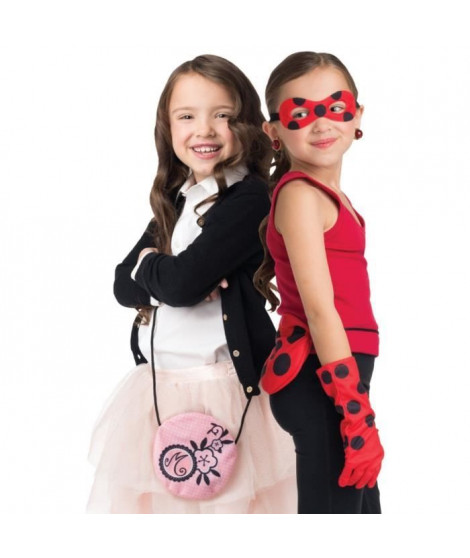MIRACULOUS Déguisement Deviens Marinette et Ladybug - Carnaval