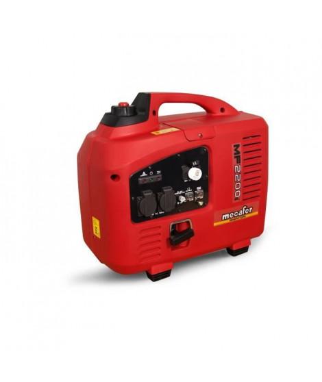 MECAFER Groupe électrogene Inverter moteur essence 4 temps 2200 W max