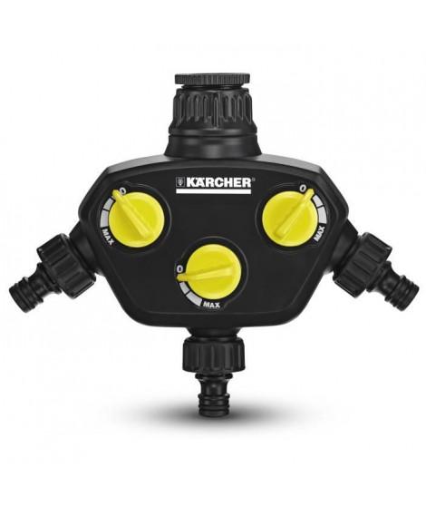 KARCHER Prise robinet - 3 sorties indépendantes et réglables