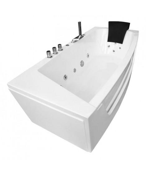 Baignoire BALNEO 185x90x68cm blanc
