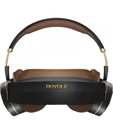 ROYOLE Casque de vidéo 3D et réalité virtuelle MOON - AMOLED x2 - 60Hz - RAM 32Go - Champ de vision 53° - Noir