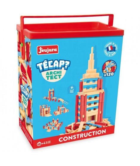 JEUJURA Tecap ? Architect - 120 planchettes en bois
