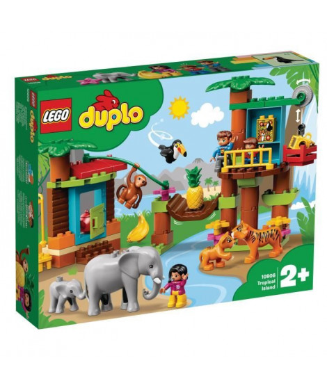 LEGO DUPLO Ma ville 10906 L'île Tropicale