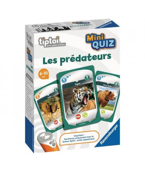 RAVENSBURGER - tiptoi - Mini Quiz - Les prédateurs