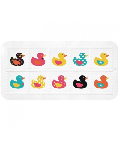 GELCO Tapis antidérapant Tad Duck 35 x 70 cm multicolore