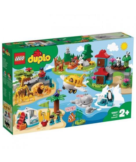 LEGO DUPLO Ma ville 10907 Les animaux du monde